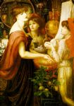 dante gabriel rossetti la bella mano paintings