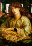 dante gabriel rossetti la donna della finestra paintings
