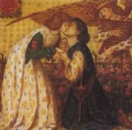 dante gabriel rossetti roman de la rose paintings