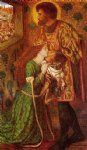 dante gabriel rossetti saint george and the princess sabra painting