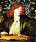 dante gabriel rossetti the blue bower painting