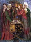 dante gabriel rossetti the blue closet painting