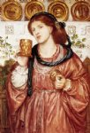dante gabriel rossetti the loving cup painting