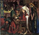 dante gabriel rossetti acrylic paintings - the tune of seven towers by dante gabriel rossetti