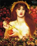 dante gabriel rossetti venus verticordia paintings