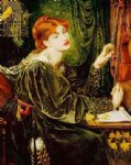 veronica veronese by dante gabriel rossetti painting
