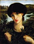 dante gabriel rossetti water willow paintings
