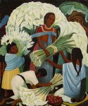 mercado de flores by diego rivera prints