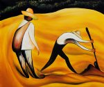 diego rivera peasants painting