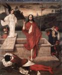dirck bouts famous paintings - resurrection by dirck bouts