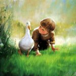 just ducky by donald zolan painting
