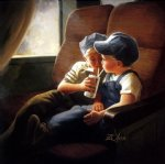 little engineers by donald zolan original paintings