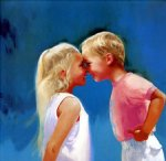 nose to nose by donald zolan original paintings