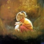 tender moment by donald zolan painting