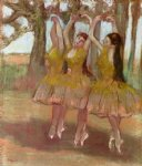 a grecian dance by edgar degas painting
