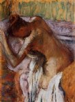 edgar degas after the bath 2 painting
