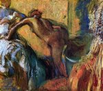 edgar degas after the bath 9 painting