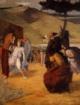 edgar degas alexander and bucephalus art