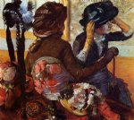edgar degas at the milliner s v painting