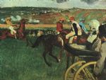 edgar degas at the races prints