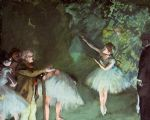 ballet acrylic paintings - ballet rehearsal by edgar degas