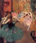 ballet acrylic paintings - ballet scene ii by edgar degas