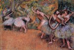 ballet original paintings - ballet scene ii by edgar degas