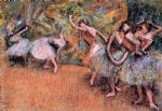 ballet acrylic paintings - ballet scene iii by edgar degas