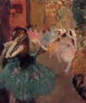 ballet famous paintings - ballet scene iii by edgar degas