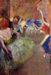 ballet acrylic paintings - ballet scene v by edgar degas