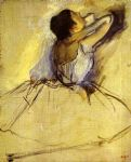 edgar degas dancer painting