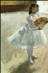 edgar degas dancer with a fan iii prints