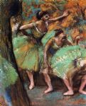 dance famous paintings - dancers iv by edgar degas