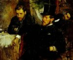edgar degas jeantaud linet and laine ii painting