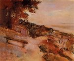 edgar degas landscape by the sea paintings