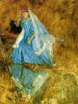 ballet original paintings - mademoiselle fiocre in the ballet the source study by edgar degas