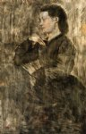 edgar degas portrait of a woman ii painting-35364