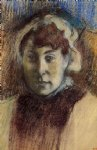 edgar degas portrait of madame ernest may painting-35375