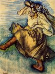 edgar degas russian dancer painting