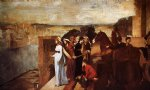 baby famous paintings - semiramis building babylon by edgar degas