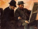 edgar degas the amateurs painting