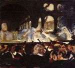 ballet acrylic paintings - the ballet scene by edgar degas