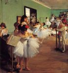 edgar degas the dance class ii paintings