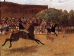 edgar degas the false start painting