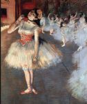 edgar degas the star painting