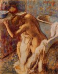 edgar degas woman drying herself v paintings