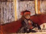 edgar degas woman in a cafe paintings