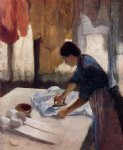 edgar degas woman ironing ii paintings