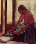 edgar degas woman ironing iv paintings