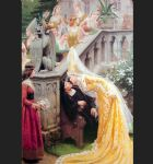 edmund blair leighton famous paintings - alain chartier by edmund blair leighton